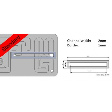 Flow-cell adhesive tapes, W2B1